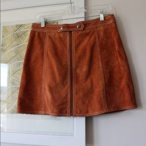 Top shop Suede Skirt